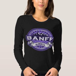 Banff Logo Violet Dark Shirt