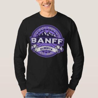 Banff Logo Violet Dark T-Shirt