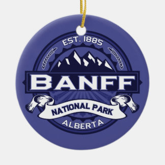 Banff Midnight Ceramic Ornament
