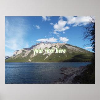 Banff Mountain Poster