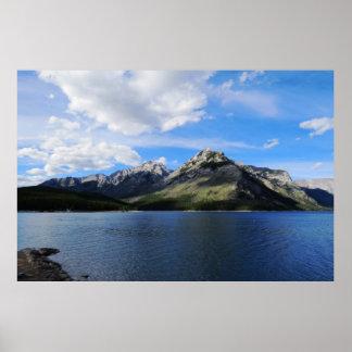 Banff Mountains Poster