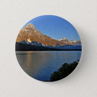 Banff National Park 2 Inch Round Button