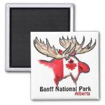 Banff National Park Alberta Canada elk magnet