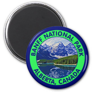 Banff National Park, Alberta, Canada Magnet