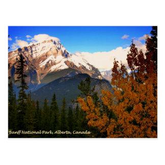 Banff National Park, Alberta, Canada Rockies Postcard