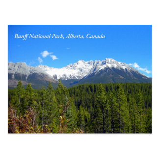Banff National Park Alberta Canada Rockies Postcard