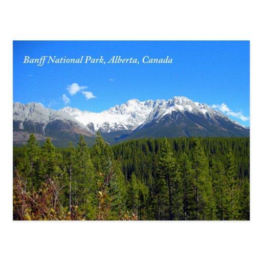 Banff National Park Alberta Canada Rockies Postcard