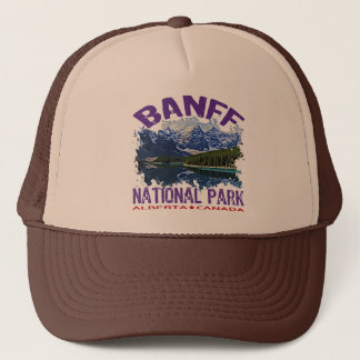 Banff National Park, Alberta Canada Trucker Hat