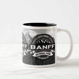 "Banff National Park ""Ansel Adams"" Two-Tone Coffee Mug"