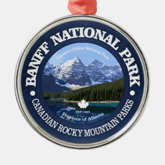 Banff National Park (C) Metal Ornament