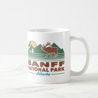 Banff National Park Elk Coffee Mug