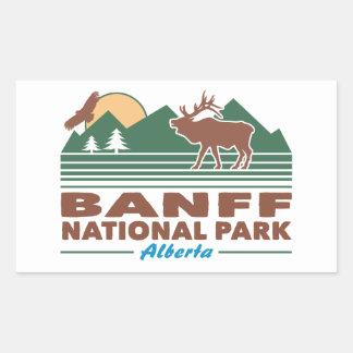 Banff National Park Elk Sticker