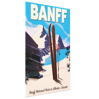 Banff National Park in Alberta, Canada. Canvas Print