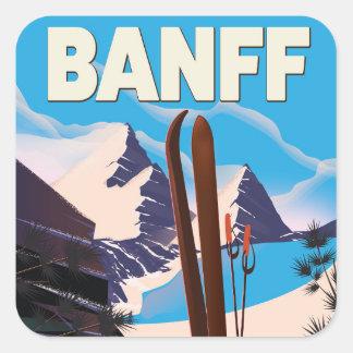 Banff National Park in Alberta, Canada. Square Sticker