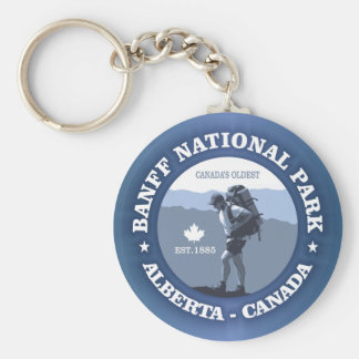 Banff National Park Keychain