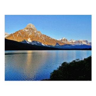 Banff National Park Lake Postcard