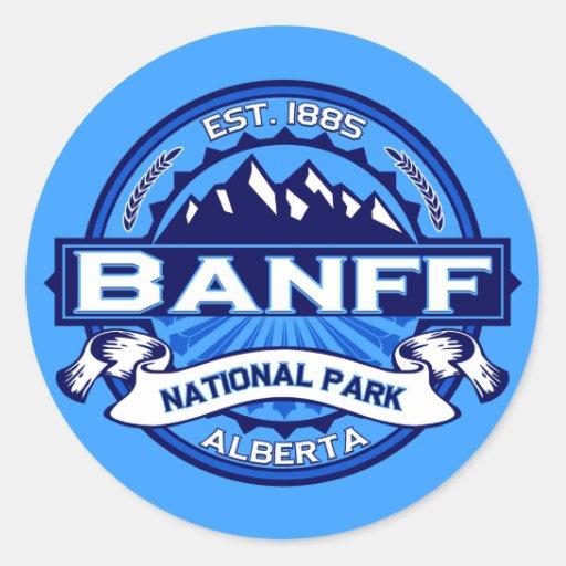 Banff National Park Logo Stickers
