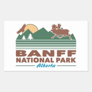 Banff National Park Moose Sticker