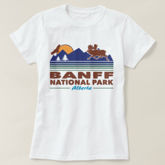 Banff National Park Moose T-Shirt