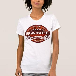 Banff Natl Park Crimson Logo Shirt