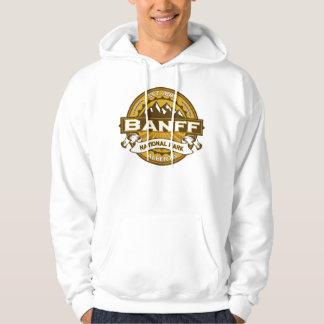 Banff Natl Park Goldenrod Logo Hoodie
