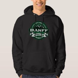 Banff Natl Park Green Logo Hoodie