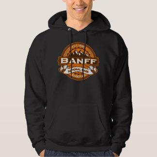 Banff Natl Park Pumpkin Logo Hoodie