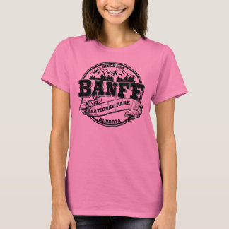 Banff NP Old Circle Black T-Shirt