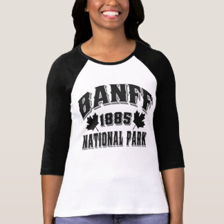 Banff NP Old Style Obsidian T-shirts