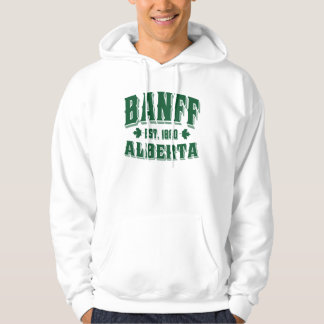 Banff Old Style Green Hoodie