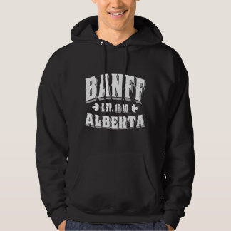 Banff Old Style White Hoodie