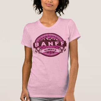 Banff Raspberry Logo Tshirt