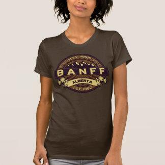 Banff Sepia Logo T Shirt