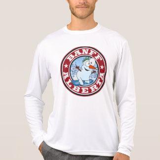 Banff Snowman Circle T-shirt
