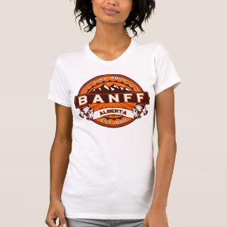Banff Tangerine Logo Shirts