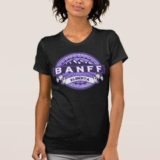 Banff Violet Logo Tee Shirt