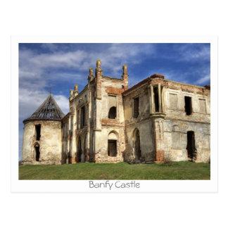 Banfy Castle Postcard