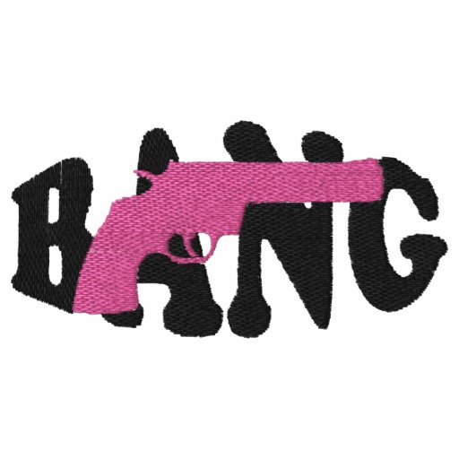 Bang Embroidered Women T-Shirt