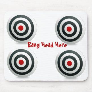 Bang Head Mousepad