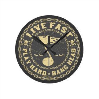 Bang Head Wall Clocks