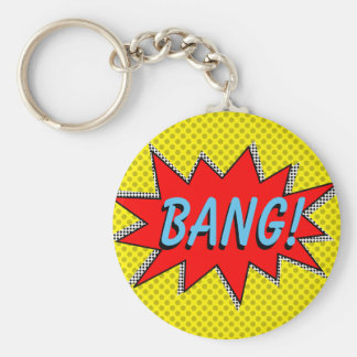 BANG! Superhero Keychain Template