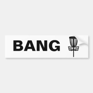 BANG the Chains Bumper Sticker
