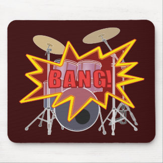 Bang Your Drums! Mouse Pad