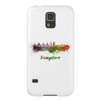 Bangalore skyline in watercolor galaxy s5 cover