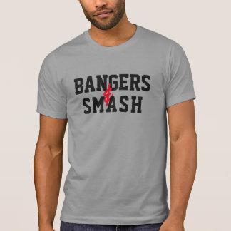 Bangers smash funny tshirt design bangers and mash