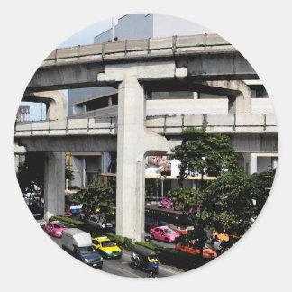 Bangkok Classic Round Sticker