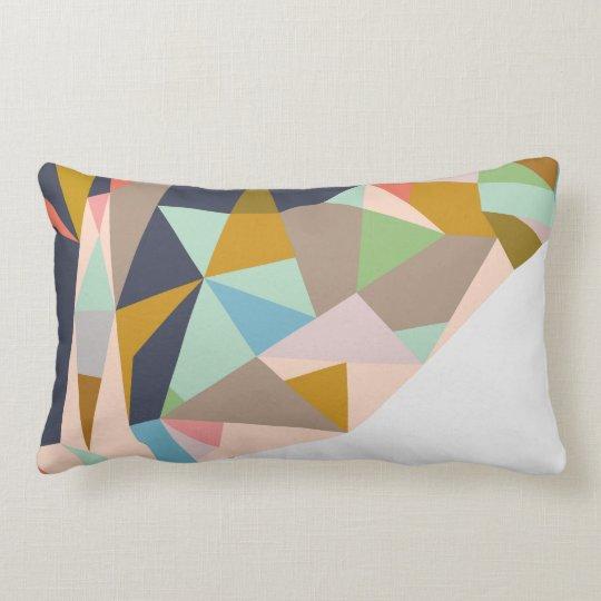 Bangkok contemporary, geometric cushion