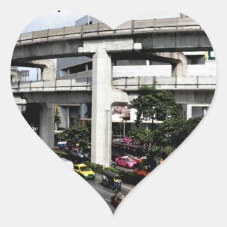 Bangkok Heart Sticker