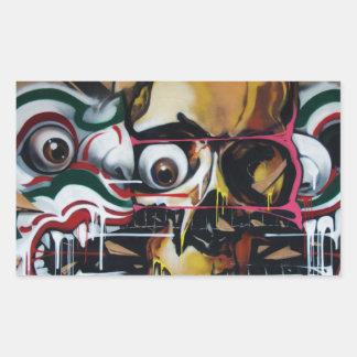 Bangkok Skull Graffiti