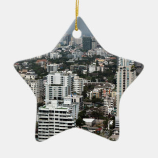 Bangkok Thailand Ceramic Star Ornament